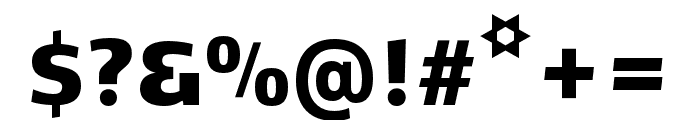 Kobenhavn CS Black Font OTHER CHARS
