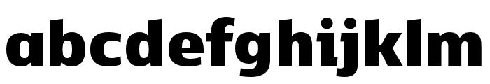 Kobenhavn CS Black Font LOWERCASE