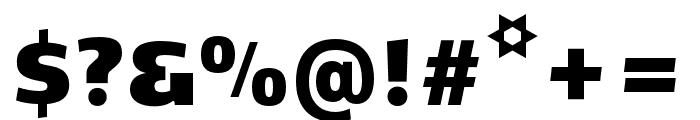Kobenhavn CS ExtraBlack Font OTHER CHARS