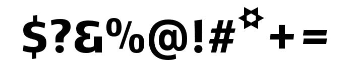 Kobenhavn CS ExtraBold Font OTHER CHARS