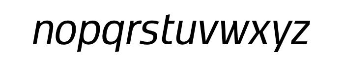Kobenhavn CS Regular Italic Font LOWERCASE