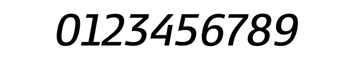 Kobenhavn CS SemiBold Italic Font OTHER CHARS
