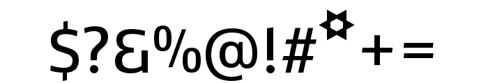 Kobenhavn CS SemiBold Font OTHER CHARS