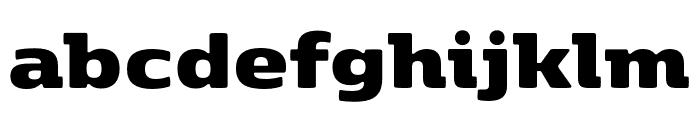 Kobenhavn ExtraBlack Font LOWERCASE