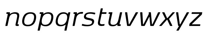 Kobenhavn Regular Italic Font LOWERCASE