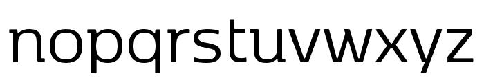 Kobenhavn Regular Font LOWERCASE