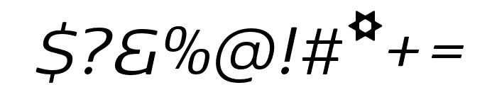 Kobenhavn Sans Bold Font OTHER CHARS