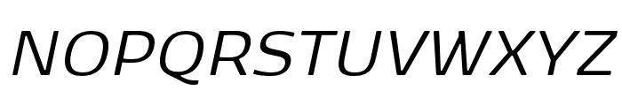 Kobenhavn Sans Bold Font UPPERCASE