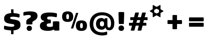 Kobenhavn Sans ExtraBlack Font OTHER CHARS