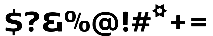 Kobenhavn Sans ExtraBold Font OTHER CHARS
