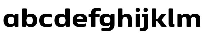 Kobenhavn Sans ExtraBold Font LOWERCASE
