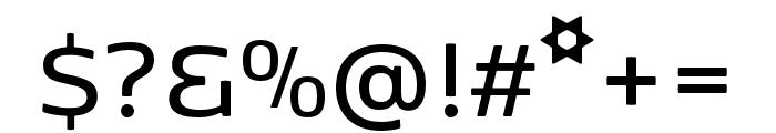 Kobenhavn Sans SemiBold Font OTHER CHARS