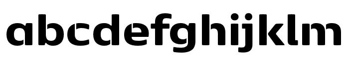Kobenhavn Sans Stencil ExtraBold Font LOWERCASE