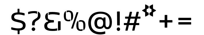 Kobenhavn Sans Stencil SemiBold Font OTHER CHARS