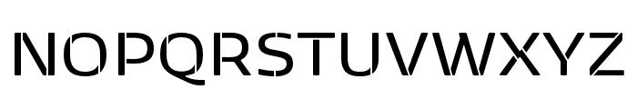 Kobenhavn Sans Stencil SemiBold Font UPPERCASE