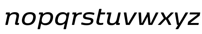 Kobenhavn SemiBold Italic Font LOWERCASE