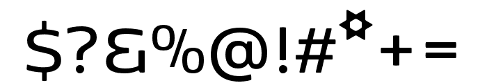 Kobenhavn SemiBold Font OTHER CHARS