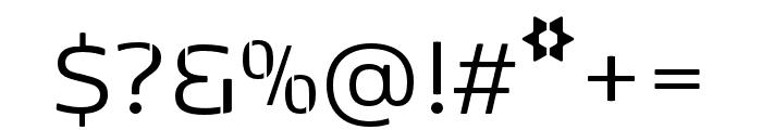 Kobenhavn Stencil Regular Font OTHER CHARS