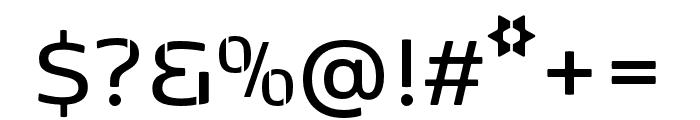 Kobenhavn Stencil SemiBold Font OTHER CHARS
