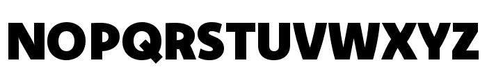 Komet Black SC Font UPPERCASE