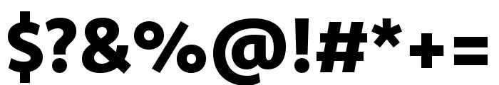 Komet Heavy SC Font OTHER CHARS