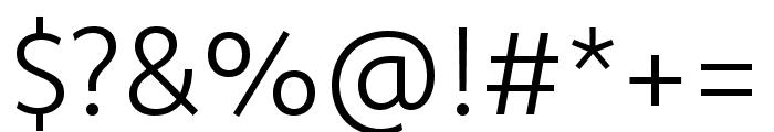 Komet Light SC Font OTHER CHARS