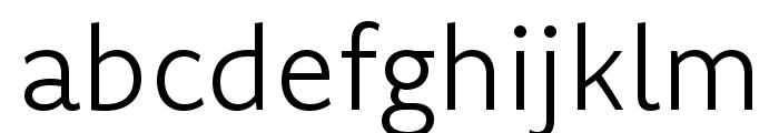 Komet Light SC Font LOWERCASE
