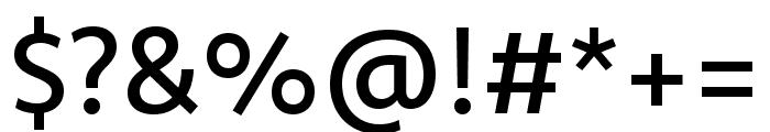 Komet Medium SC Font OTHER CHARS