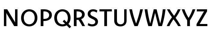 Komet Medium SC Font UPPERCASE