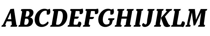 Kopius Bold Italic Font UPPERCASE