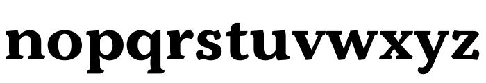 Kopius Condensed Bold Font LOWERCASE