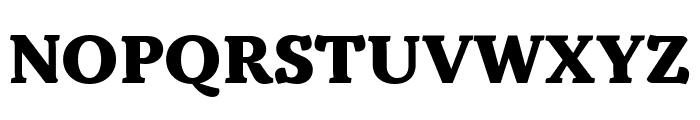 Kopius Condensed Extrabold Font UPPERCASE