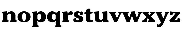 Kopius Condensed Extrabold Font LOWERCASE