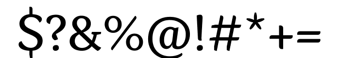 Kopius Condensed Semibold Font OTHER CHARS