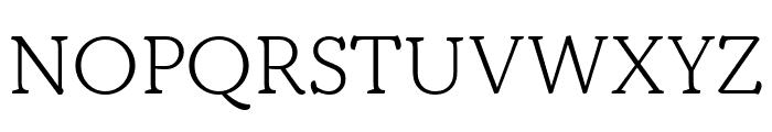Kopius Light Font UPPERCASE