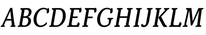 Kopius Regular Italic Font UPPERCASE