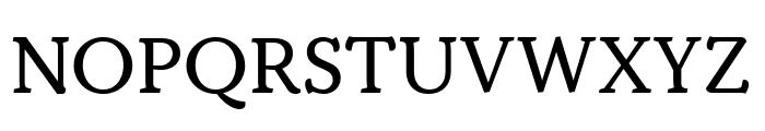 Kopius Regular Font UPPERCASE