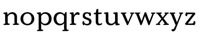 Kopius Regular Font LOWERCASE