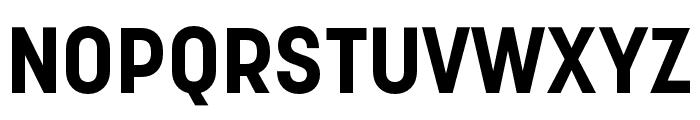Korolev Compressed Bold Font UPPERCASE
