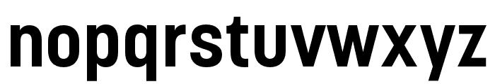 Korolev Compressed Bold Font LOWERCASE