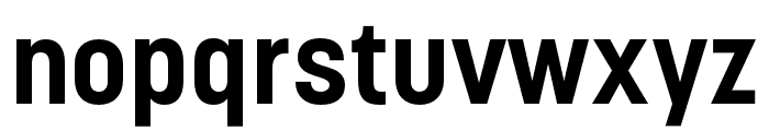 Korolev Condensed Bold Font LOWERCASE