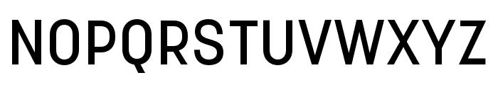 Korolev Rounded Medium Font UPPERCASE