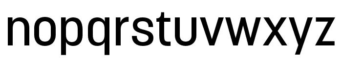 Korolev Rounded Medium Font LOWERCASE