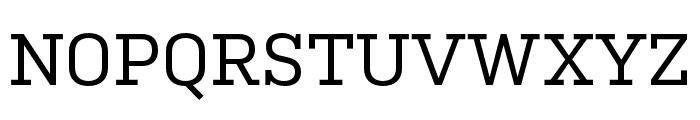 Kulturista Medium Font UPPERCASE