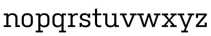 Kulturista Medium Font LOWERCASE