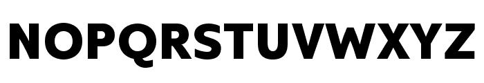 Kyrial Sans Pro Cond Black Font UPPERCASE