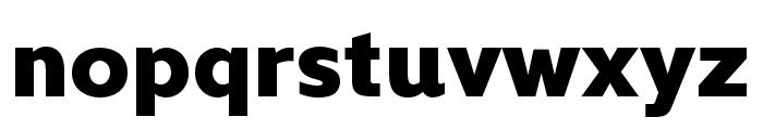 Kyrial Sans Pro Cond Black Font LOWERCASE
