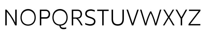 Kyrial Sans Pro Cond Light Font UPPERCASE