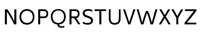 Kyrial Sans Pro Regular Font UPPERCASE