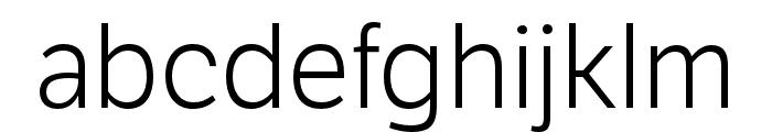LFT Etica Book Italic Font LOWERCASE